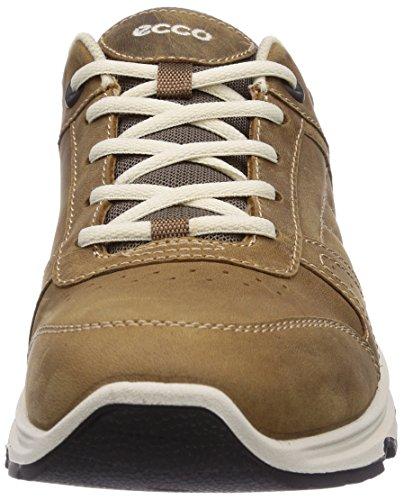 Ecco  Light IV Camel/Stone Oil Nubuck/Textile, Chaussures de course homme Marron (camel/stone53025)