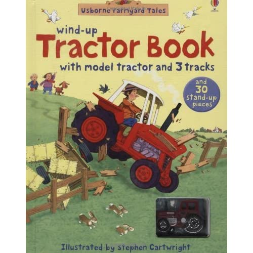 Farmyard Tales Wind-up Tractor Book by Stephen Cartwright (Illustrator) (28-Sep-2007) Hardcover