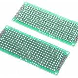 XMQC*3 x 7cm de fibra de vidrio Breadboard prototipos (2 pcs)