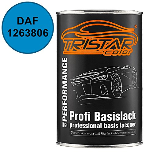 TRISTARcolor Autolack Dose spritzfertig DAF 1263806 Blauw Basislack 1,0 Liter 1000ml