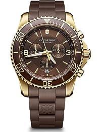 Victorinox Herren-Armbanduhr Maverick Chronograph Quarz Plastik 241692