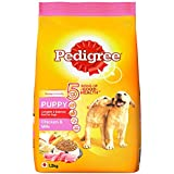 Pedigree Puppy Dry Dog Food, Chicken and Milk, 1.2kg Pack