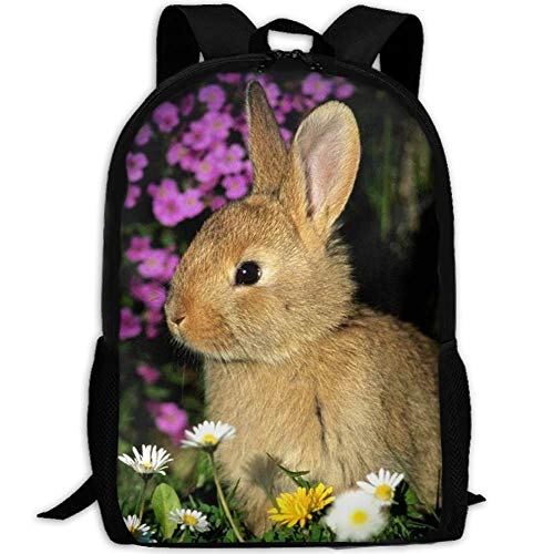 fsfsdafsa Stylish Funny Bunnies Laptop Sac à DOS de Voyage School Sac à DOS de Voyage Bookbags College Bags Daypack -