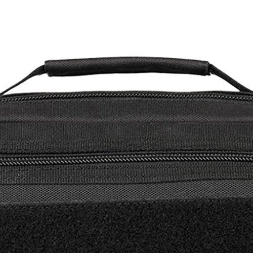MagiDeal Molle Tattico Casuale Borsa a Spalla Militare Sacchetto Messenger Bag per Campeggio, Escursionismo, Viaggio - #01 #06