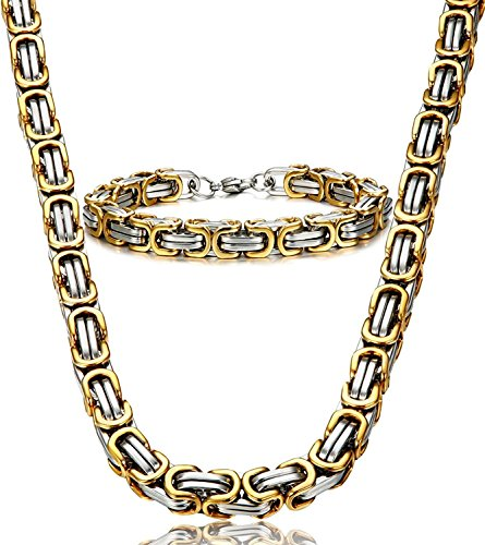 jstyle-jewelry-stainless-steel-male-chain-necklace-mens-bracelet-set