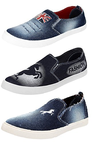Tempo Men's Combo Pack of 3 Loafers & Moccasins-7
