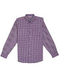 Carhartt Jeff Shirt LS alabama / rouge Taille