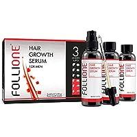 Sérum para crecimiento del cabello | Para hombres | Tratamiento contra la pérdida del cabello y