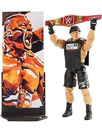 WWE - Figura Elite Wrestlemania Brock Lesnar - color negro (Mattel FMG35)