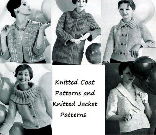 Gestrickter Mantel Muster und gestrickte Jacke Muster -