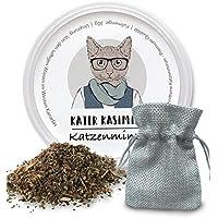 Katzenminze (Catnip) 30g mit robustem Säckchen. Spielen Sie mit Ihrem kleinen Schatz. Ihre Katze wird Sie lieben. Nur beste Minze-Qualität (getrocknet und geschnitten).