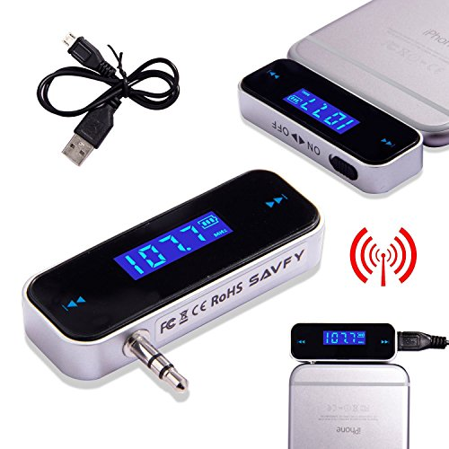 Generic A1.NUM.2614.CRY.1. FM-Radio, Musik-Player für iPhone 4 Hone Transmitter Auto S4 Sam /4S 5/5C 6 Samsung laxy S4 NV_1002614-WRUK23_408