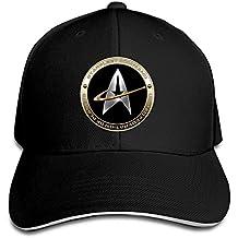 Hittings NEVA Star Trek 50 Adult Baseball Cap Snapback Hats Hip Hop Flat Hat Black