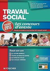 Travail social Les Concours d'entrée concours 2013