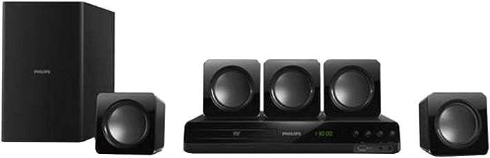 (CERTIFIED REFURBISHED) Philips 5.1 HTD3509/94 DVD Home Theater Speaker (Black)