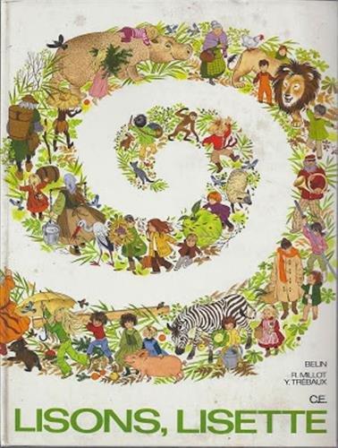 Lisons Lisette CE par Roger Millot, Yves Trébaux