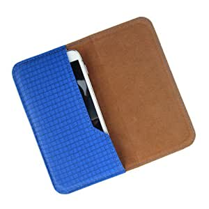 i-KitPit : PU Leather Flip Pouch Case Cover For Maxx AX8 NOTE I (BLUE)
