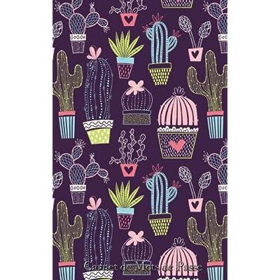 Carnet de Mots de Passe: A5 - 98 Pages - 145 - Cactus - Motifs - Infini
