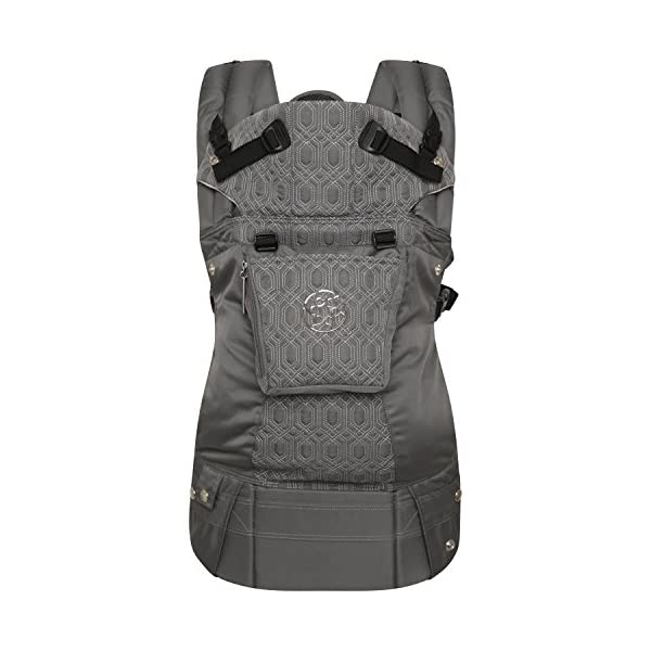 LÍLLÉbaby  Complete Embossed 6-in-1 Baby Carrier, Mystique Grey Lillebaby 6 carrying positions - foetal, infant inward, outward, toddler inward, hip, back Suitable from 3.2- 20kg (birth to approx. 4 years old Luxurious, breathable microfiber 3