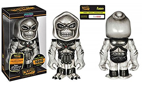 Masters of the Universe Grey Skull Skeletor Hikari Sofubi Vinyl Figure Limited to 1000pcs Worldwide by Masters of the Universe