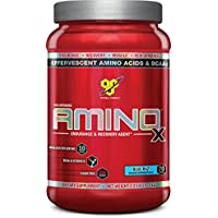 BSN Amino X Intra-Workout, Blue Raspberry, 1.01 kg