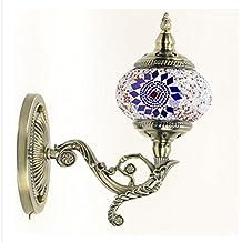 ASDF Hecho A Mano De Marruecos Turca Otomana Estilo Mosaico Pared Aplique De La Luz De
