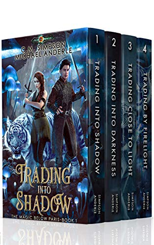 Magic Below Paris Boxed Set (Books 1 - 4): Trading Into Shadow, Trading Into Darkness, Trading Close to Light, Trading By Firelight (English Edition) -
