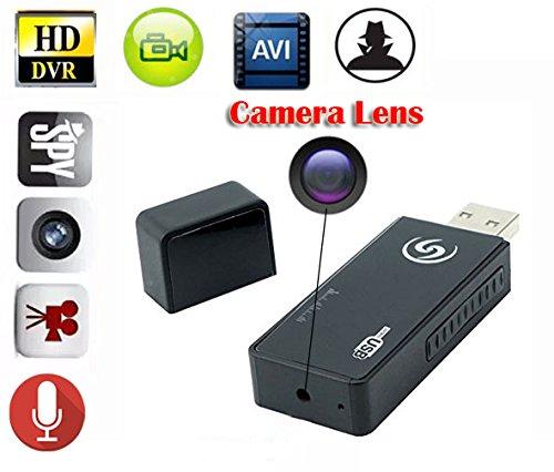 EPTEK @ Mini Spion versteckte Kamera Portable Spion versteckte Kamera USB Flash Drive U Disk DV Camcorder Motion Aktivierte Video Recorde Nanny Kamera DVR (Bild-frame-kamera Spion)