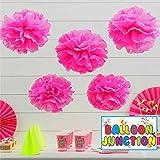 BALLOON JUNCTION Fluffy Decoration (Set ...