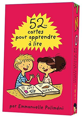 52 cartes pour apprendre  lire