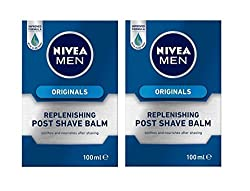 Set of 2: Nivea For Men Replenishing Post Shave Balm 100ml (Set of 2)