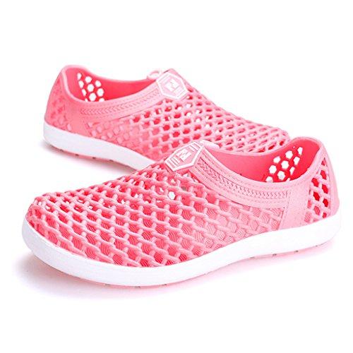 Eagsouni® Aqua Chaussures nautiques de sport aquatique randonnée et de plage Water Shoes Réspirante Séchage Rapide pour homme femme Rouge