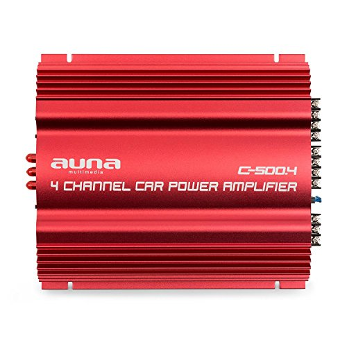 Auna C500.4 Sharp Edition - Amplificador Hi-Fi