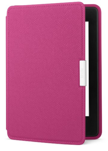Amazon - Funda de cuero para Kindle Paperwhite, color rosa fucsia - compatible con todas las generaciones de Kindle Paperwhite