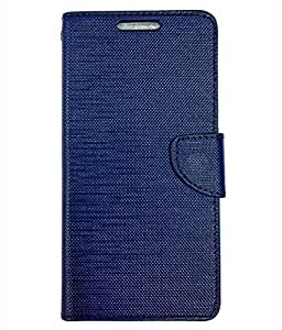 Ceffon Flip Cover Case For Vivo V1-Blue