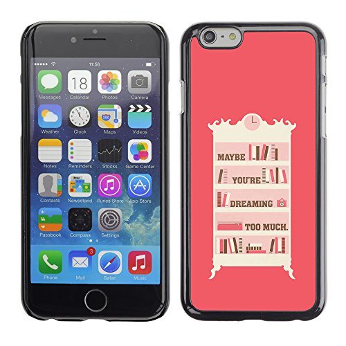 Graphic4You Like A Boss Design Harte Hülle Case Tasche Schutzhülle für Apple iPhone 6 / 6S Design #2