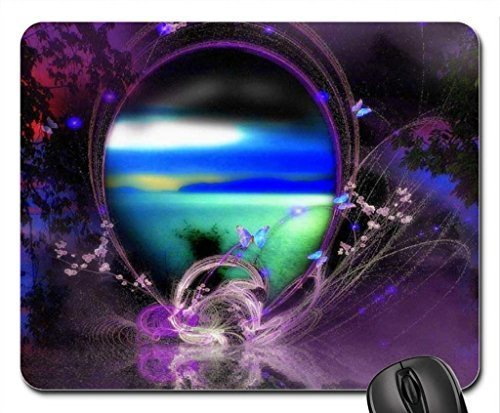 Yearning for Splendor Mouse Pad, Mousepad (Butterflies Mouse Pad)