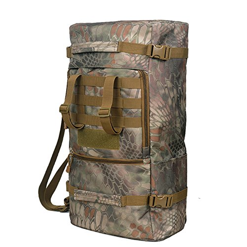 Yinggg tela zaino da uomo casual Daypacks borsa da viaggio per escursionismo/campeggio/all' aperto jungle boa stripe