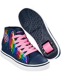 Heelys Veloz Schuhe Rainbow dunkelblau-pink Mädchen