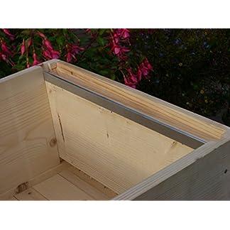12 x Beekeeping National bee hive Steel frame runners (6 pairs) 12