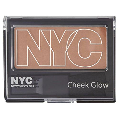 NYC Cheek Glow Powder Blush Blusher - 656 Sutton Place Peach