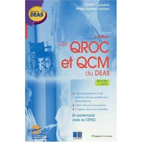 Les QROC et QCM du DEAS : Modules 1, 2 et 6