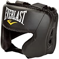 Everlast Everfresh Boxing Headguard -Black, One Size Fits All