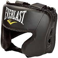 Everlast Headguard Correa Ajustable para Boxeo, Accesorios Deportivos, Unisex Adulto, Negro, Talla única