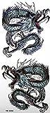 GRASHINE Wasserdicht sexy totem gemalten Drachen Tattoo-Aufkleber