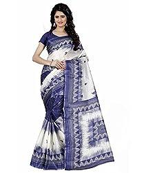 Trendz Style Taffeta Silk Floral Print Saree(TZ_1026_C)