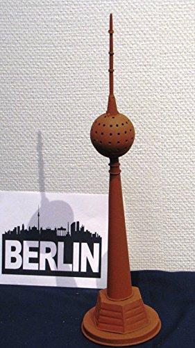 i-mex Rost-Design Berliner FERNSEHTURM Deko In- und Outdoor