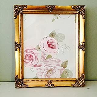 Vintage Style Ornate A4 Gilt Picture Frame
