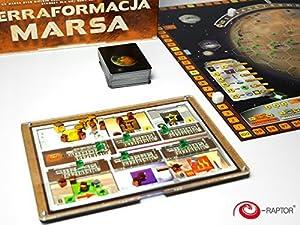 E-Raptor Organizador ERA19046 Compatible con el Juego Terraforming Mars