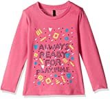 #2: United Colors of Benetton Baby Girls' Blouse (16A3094C0173IK270Y_Dark Pink_0Y)